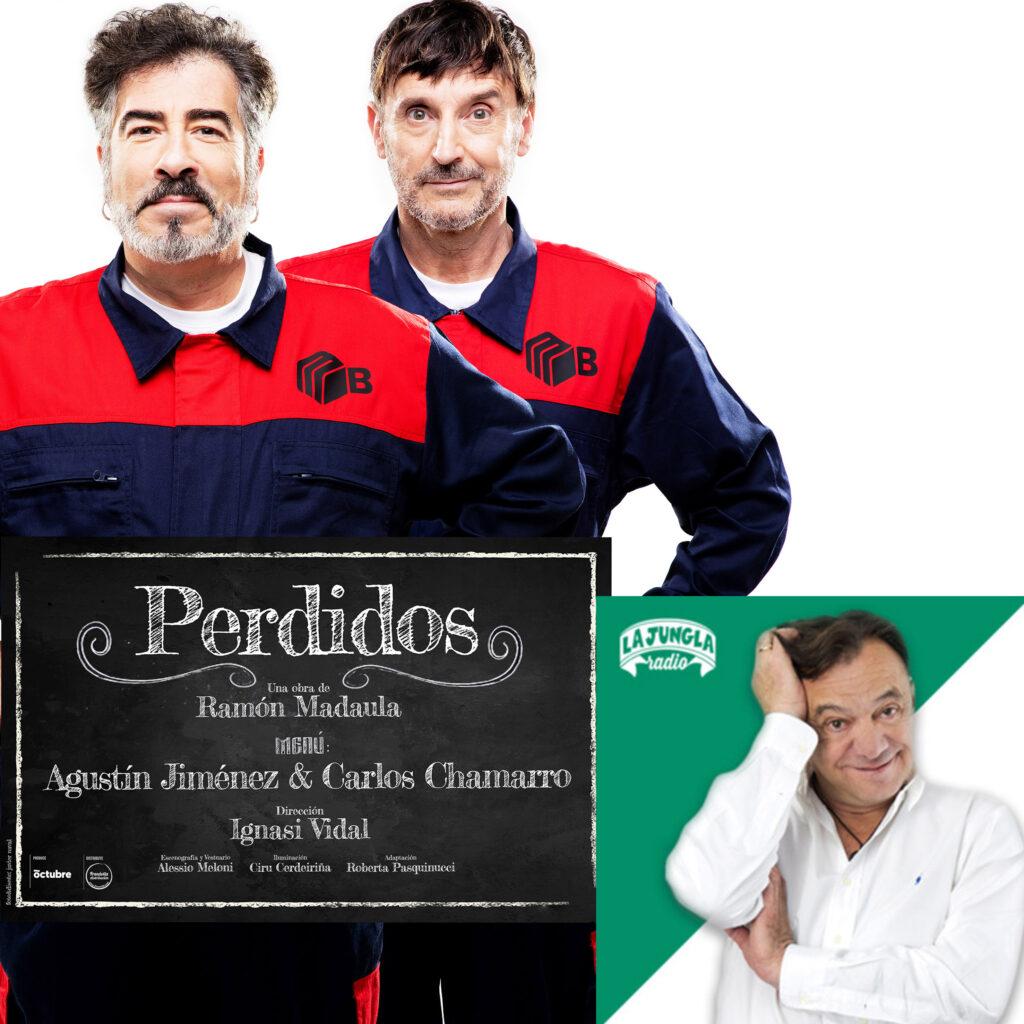 Perdidos Agustín Jimenez Carlos Chamarro Jose Antonio Abellan Jungla Radio