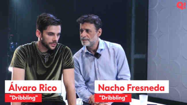 Dribbling Nacho Fresneda Alvaro Rico Ignasi Vidal Diario que